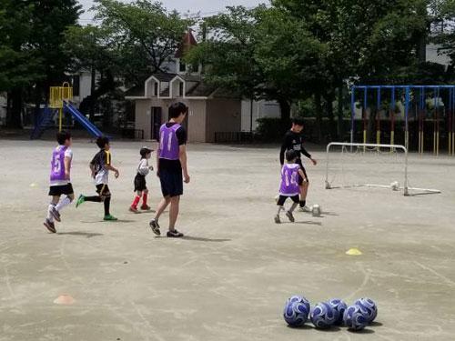第1回フリーサッカースクール活動報告