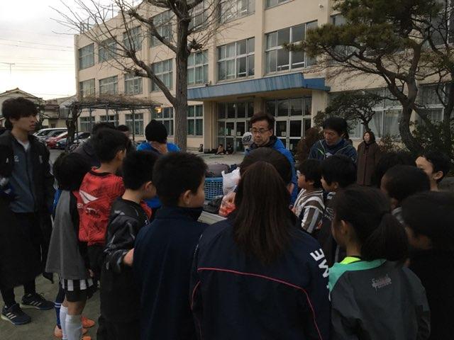 初蹴り親子サッカー大会を開催しました!