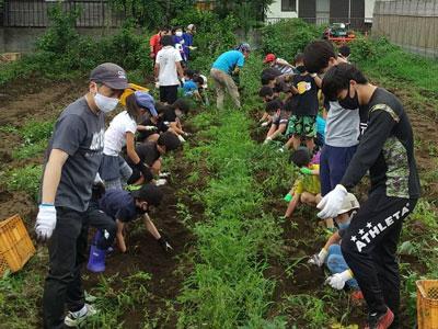 今できることを!『村のやさい』様のご協力で農業体験ができました!